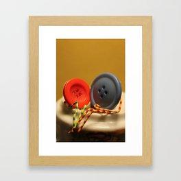First Date, First Love Framed Art Print