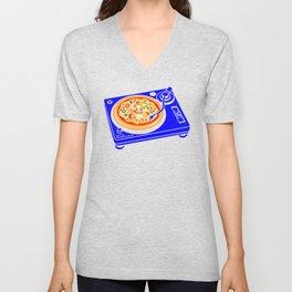 Pizza Scratch Unisex V-Neck