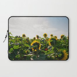 Sunflower Fields, 2014 Laptop Sleeve