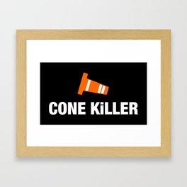 Cone Killer v3 HQvector Framed Art Print