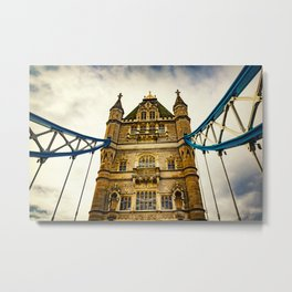 Tower Bridge 02 Metal Print