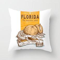 Florida 2 Throw Pillow