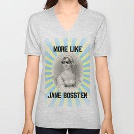 More Like Jane BOSSTEN Unisex V-Neck