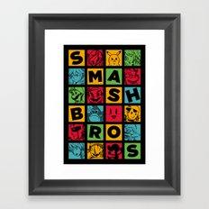 All Stars! Framed Art Print