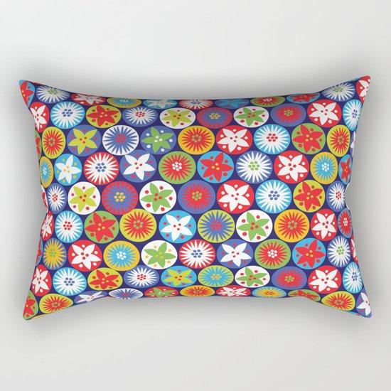 Festive Print Rectangular Pillow