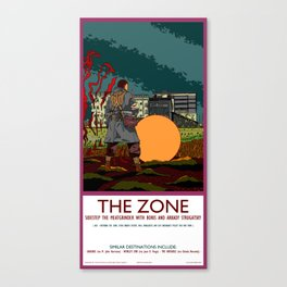 The Zone Poster Canvas Print