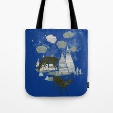 magic mountains Tote Bag