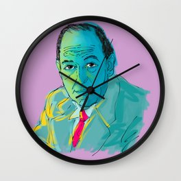 C. S. Lewis Painting Wall Clock