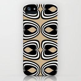 Psi Almond Buff iPhone Case