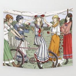 Edwardian Sailor Senshi Wall Tapestry
