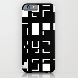Alphanumerique iPhone Case