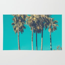 A Few Turquoise Palms Rug