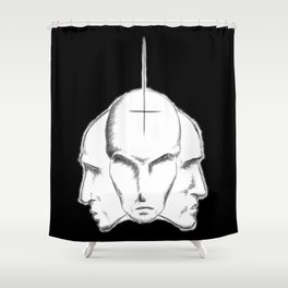Trine Leer Shower Curtain