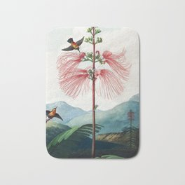 Large Flowering Sensitive Plant - The Temple of Flora Bath Mat