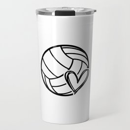 Volley love. Volleyball team coach gift Travel Mug