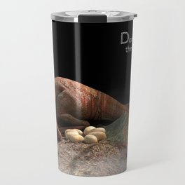 Sleeping Raptor Travel Mug