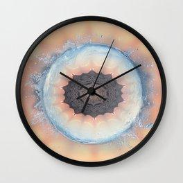 Deep cool waters Wall Clock