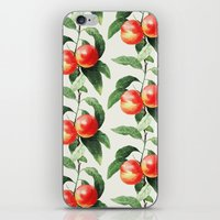 peach iPhone & iPod Skins featuring Peach by Grace