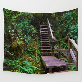 Staircase to heaven Wall Tapestry