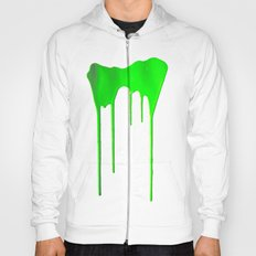 Green Splatter Hoody