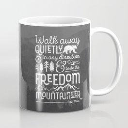 Freedom of the Mountaineer Coffee Mug