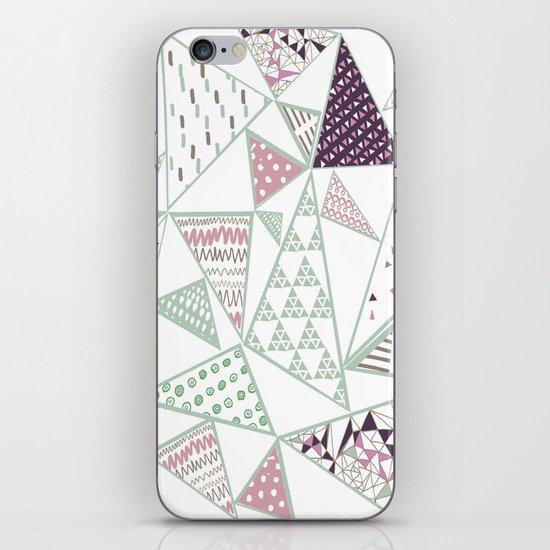 Triangle print 2 iPhone & iPod Skin