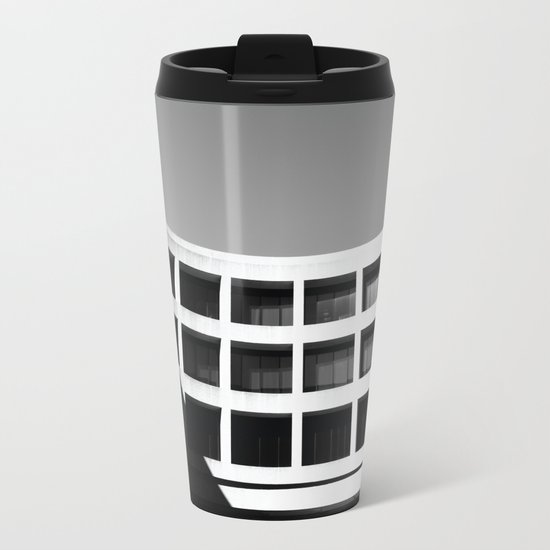 Brutal Arch Metal Travel Mug
