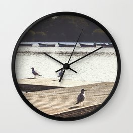 On the Boardwalk. Wall Clock