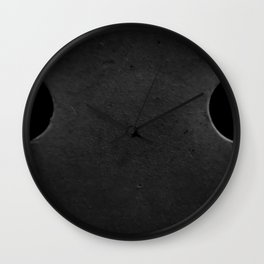 The Sad Holes Wall Clock
