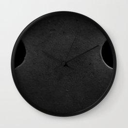 The Sad Holes Wall Clock