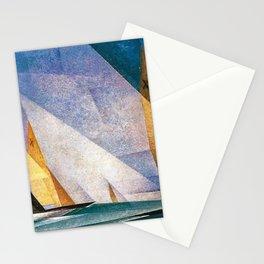 Sailboats by Lyonel Feininger Stationery Cards