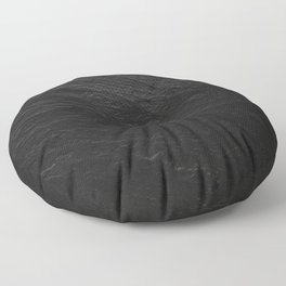 Black Slate Floor Pillow