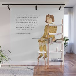 Joan of Arc Wall Mural