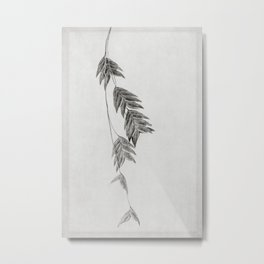 winter oats Metal Print