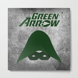 The Green Arrow Metal Print