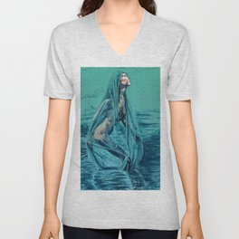 Danaë's Immaculate Conception (Revised) Unisex V-Neck