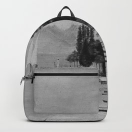 Henri Rousseau - Lake of Geneva (Lac Leman) Backpack