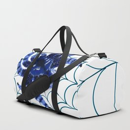 The blue Spider Duffle Bag
