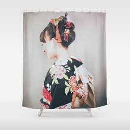 Woman japanese style Shower Curtain