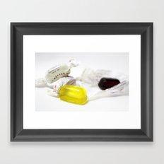 Fox's Fruit Glaziers. Framed Art Print