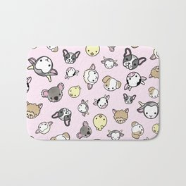 Pink Critter Collection Bath Mat