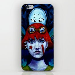 Molly and Spirit iPhone Skin