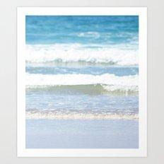 Rolling Waves 4 Vertical Art Print