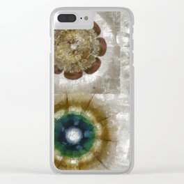 Princelet Strategy Flower  ID:16165-054305-06560 Clear iPhone Case