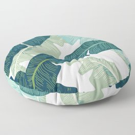 Tropical oasis Floor Pillow