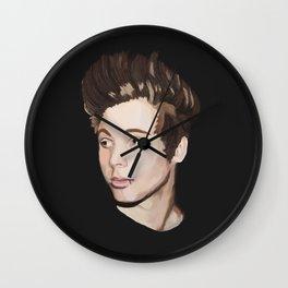 Left in the dark Wall Clock