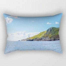 Tater Du Lighthouse from the Sea Rectangular Pillow