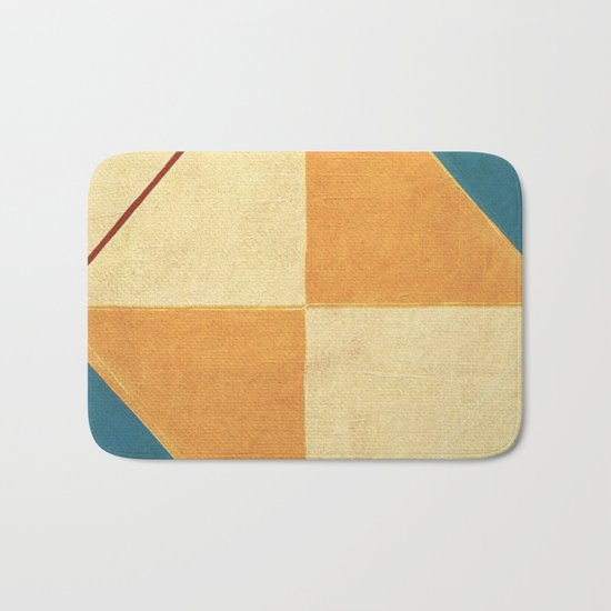 Geometric Thoughts 9 Bath Mat