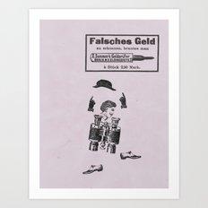 Falsches Geld Art Print