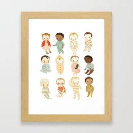 Babies by Emily Winfield Martin Framed Art Print